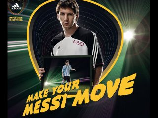 adidas Video Tool mit Messi